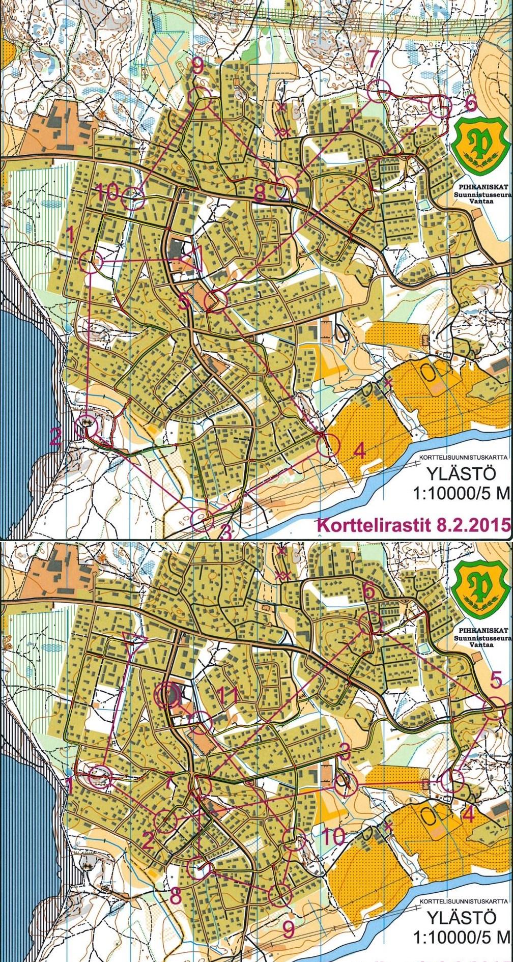 Digitaalinen Kartta Arkisto Kortterirastit Pysu 09 02 2015